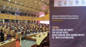 Abuja International Model United Nations Conference 2020